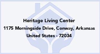 Heritage Living Center