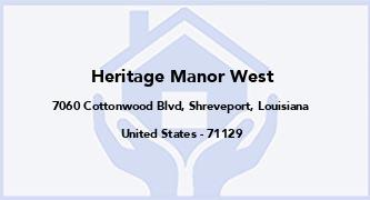Heritage Manor West