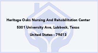 Heritage Oaks Nursing And Rehabilitation Center