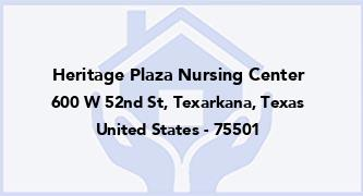 Heritage Plaza Nursing Center