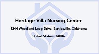 Heritage Villa Nursing Center