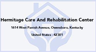 Hermitage Care And Rehabilitation Center