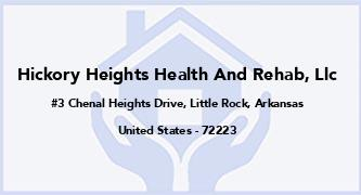 Hickory Heights Health And Rehab, Llc