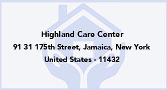 Highland Care Center
