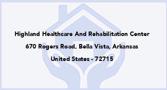 Highland Healthcare And Rehabilitation Center