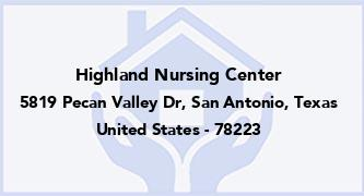 Highland Nursing Center