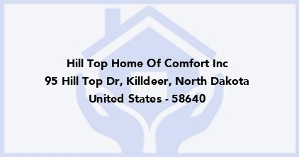 Hill Top Home Of Comfort Inc