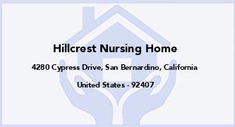 Hillcrest Nursing Home