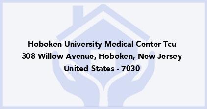 Hoboken University Medical Center Tcu