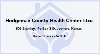 Hodgeman County Health Center Ltcu