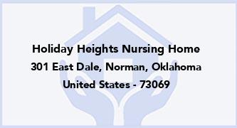 Holiday Heights Nursing Home