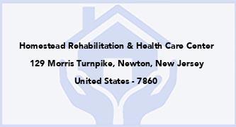 Homestead Rehabilitation & Health Care Center