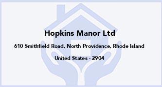 Hopkins Manor Ltd