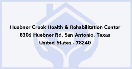 Huebner Creek Health & Rehabilitation Center