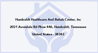 Humboldt Healthcare And Rehab Center, Inc