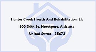 Hunter Creek Health And Rehabilitation, Llc