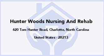 Hunter Woods Nursing And Rehab
