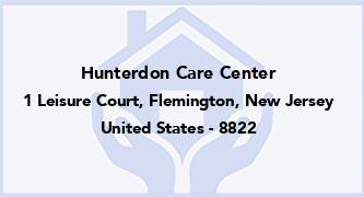 Hunterdon Care Center