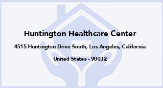 Huntington Healthcare Center
