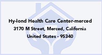 Hy-Lond Health Care Center-Merced