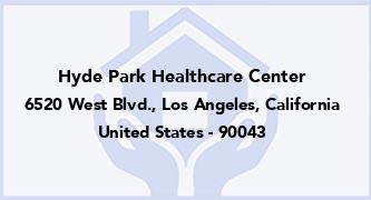 Hyde Park Healthcare Center