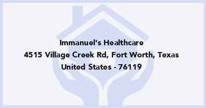Immanuel'S Healthcare