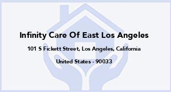 Infinity Care Of East Los Angeles