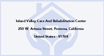 Inland Valley Care And Rehabilitation Center