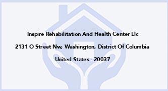 Inspire Rehabilitation And Health Center Llc