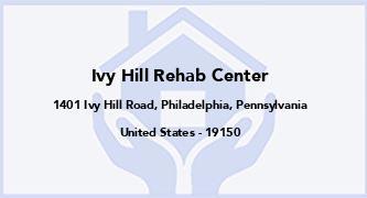 Ivy Hill Rehab Center