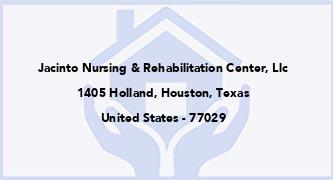Jacinto Nursing & Rehabilitation Center, Llc