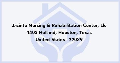 Jacinto Nursing & Rehabilitation Center, Llc