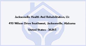 Jacksonville Health And Rehabilitation, Llc