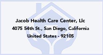 Jacob Health Care Center, Llc