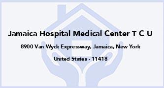 Jamaica Hospital Medical Center T C U