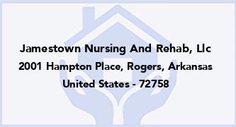 Jamestown Nursing And Rehab, Llc