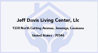 Jeff Davis Living Center, Llc