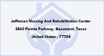 Jefferson Nursing And Rehabilitation Center