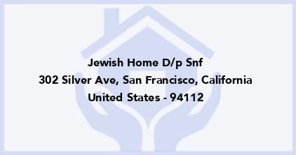 Jewish Home D/P Snf