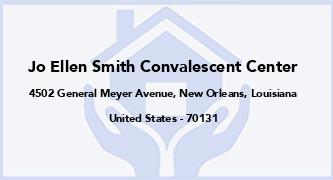 Jo Ellen Smith Convalescent Center