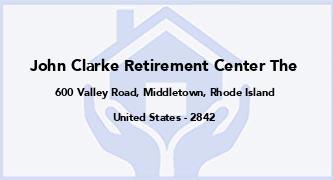 John Clarke Retirement Center The