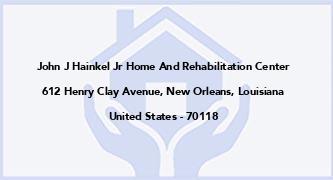 John J Hainkel Jr Home And Rehabilitation Center