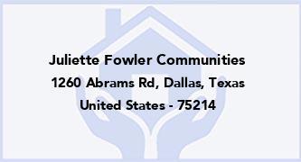 Juliette Fowler Communities