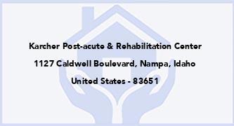 Karcher Post-Acute & Rehabilitation Center