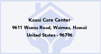 Kauai Care Center