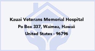Kauai Veterans Memorial Hospital