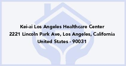 Kei-Ai Los Angeles Healthcare Center