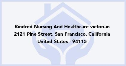 Kindred Nursing And Healthcare-Victorian