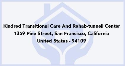 Kindred Transitional Care And Rehab-Tunnell Center