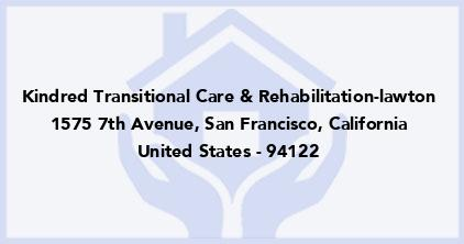 Kindred Transitional Care & Rehabilitation-Lawton